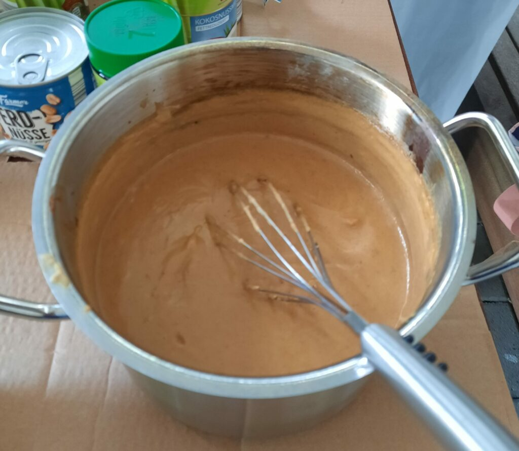 FeelGood Thai Kochen Erdnusssoße