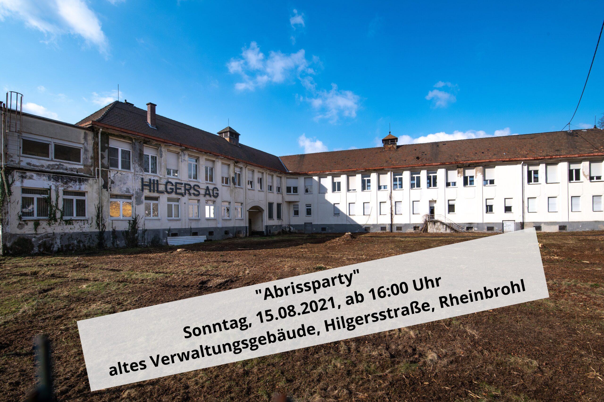 altes Hilgers AG Gebäude